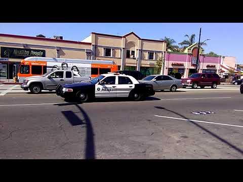 Huntington Park police responding code 3