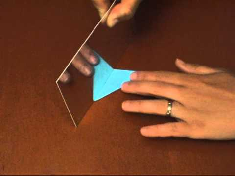 Drawing Lines Of Symmetry On Shapes Worksheet : How to find symmetry with a mirror youtube