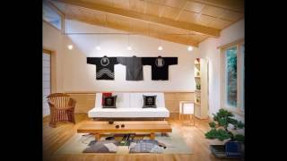 Интерьер гостиной в японском стиле - фото примеры готовых решений