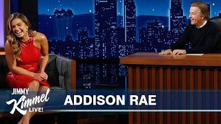 Addison Rae on Blowing Up on TikTok, Friendship with Kourtney Kardashian & Her Dad Tasing Himself