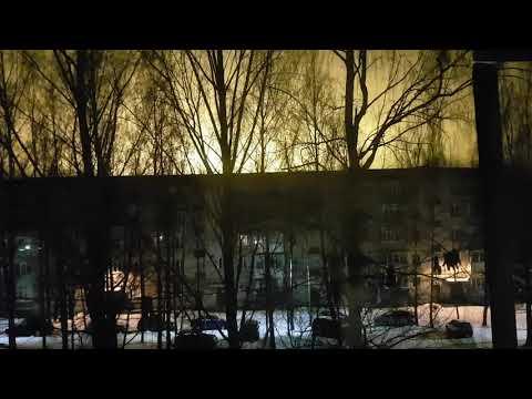 05 12 2019 Рославль, Смоленской обл ,05 10 ч  Свечение теплиц 2
