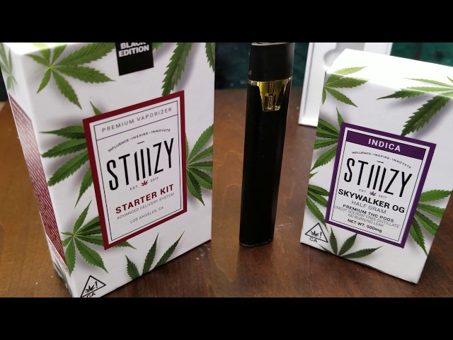 STIIIZY STARTER KIT SKYWALKER OG POD UNBOXING!