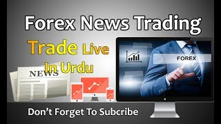 Forex News Trading On GBP USD Best Profitable Strategy