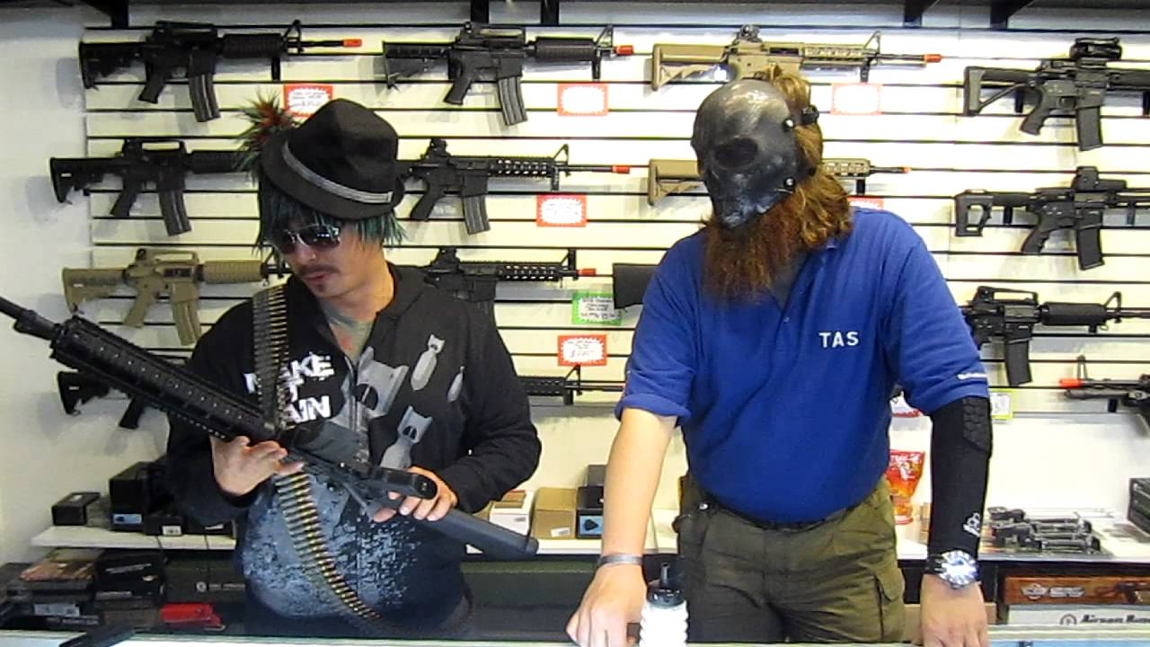 Tactical Airsoft supply presents Eric in Norway Ajax Custom 530fps Airsoft  Rifle And Halloween