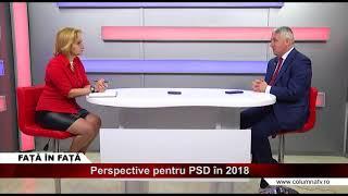 Față în Față - Perspective pentru PSD în 2018 cu senator Adrian Țuțuianu p.2