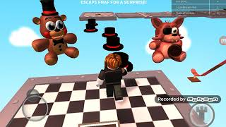 Playing ROBLOX Parkur of FNAF is won [Craft RLT SOLO]