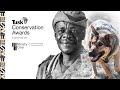 Lucky Ndlovu Winner of the Tusk Award for Conservation in Africa, 2017
