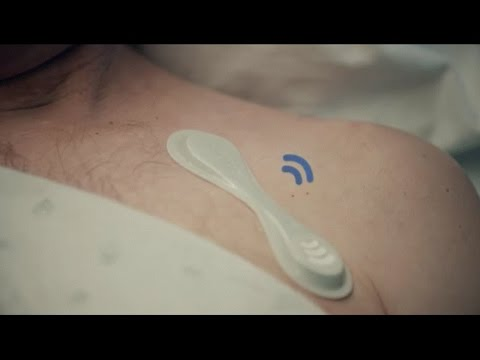 Keep a close watch on patients with the Philips wearable biosensor
