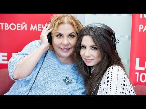 Анна Плетнева и Марина Федункив в эфире Love Radio