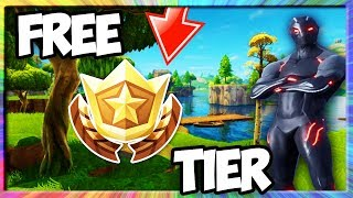 HOW TO GET a FREE SEASON 4 BATTLE PASS TIER!! (NEW FORTNITE BATTLE ROYALE *SECRET* BATTLE PASS TIER)