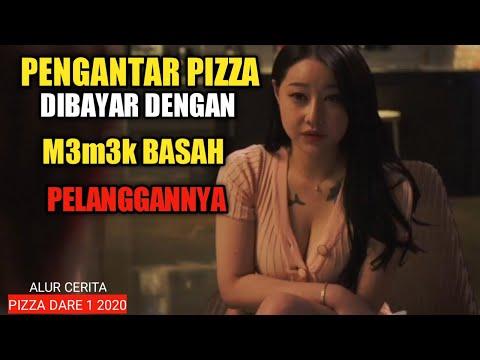 FILM PENGANTAR PIZZA NG3NT0T SAMA PELANGGANNYA ! || RANGKUM ALUR CERITA FILM PIZZA DARE 1 2020