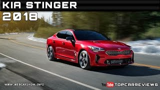 2018 Kia Stinger Review Rendered Price Specs Release Date