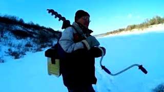 Река ДОН РЫБАЛКА Зимние ДОНКИ ПРОВЕРКА поставушек ДЕД ушел от БАБКИ на рыбалку