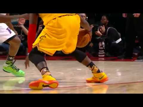 Kyrie Irving's ankle-breaking crossover on Brandon Knight ...  Kyrie Irving...