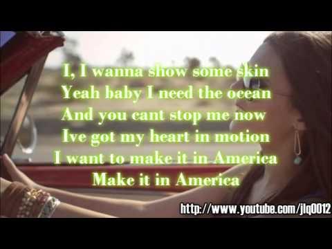 Victoria Justice - Make It In America Instrumental + Free mp3 download!