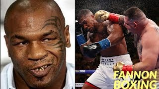 MIKE TYSON WARNS ANTHONY JOSHUA...GET YOUR MIND RIGHT! |  GUT CHECK TIME FOR AJ