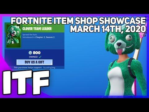 Fortnite Item Shop *NEW* ST PATRICKS DAY STUFF! [March 14th, 2020] (Fortnite Battle Royale)