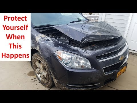 Z Edge Z3 Pro Dual Lens Dash Cam - Car Totaled In An Accident