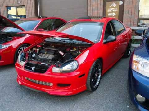 Neon Rt Swap Srt4 Project Red Viper Youtube