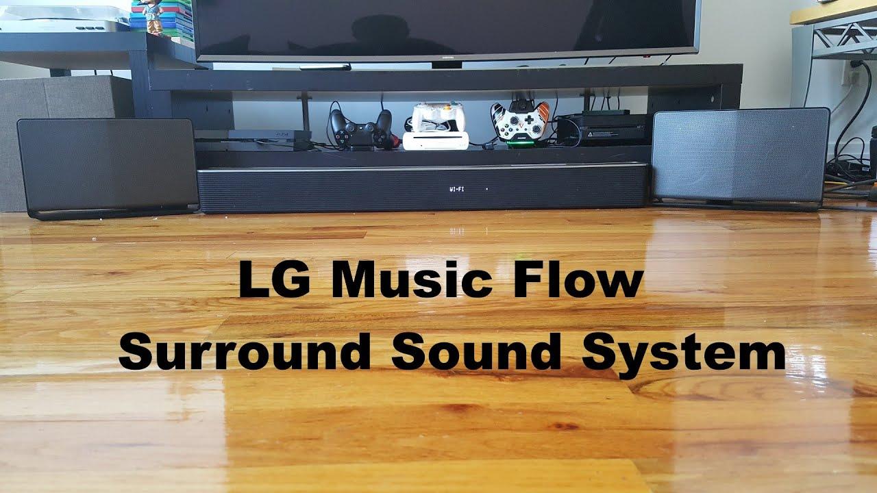 LG Music Flow Surround Sound System Review: Best Wireless ...