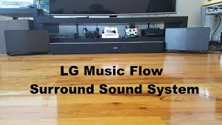 LG Music Flow Surround Sound System Review: Best Wireless Home Cinema??