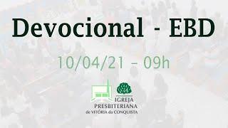 Devocional EBD - 13/06