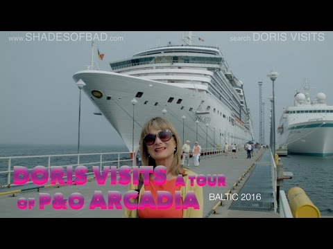 Cruise ship P&O Arcadia, Doris Visits gives a full tour