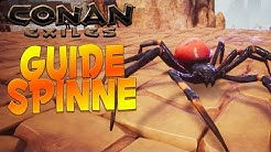 CONAN EXILES GUIDE: Spinne - Eier Fundort, verderbte Spinne zähmen & Kampf 🕷️