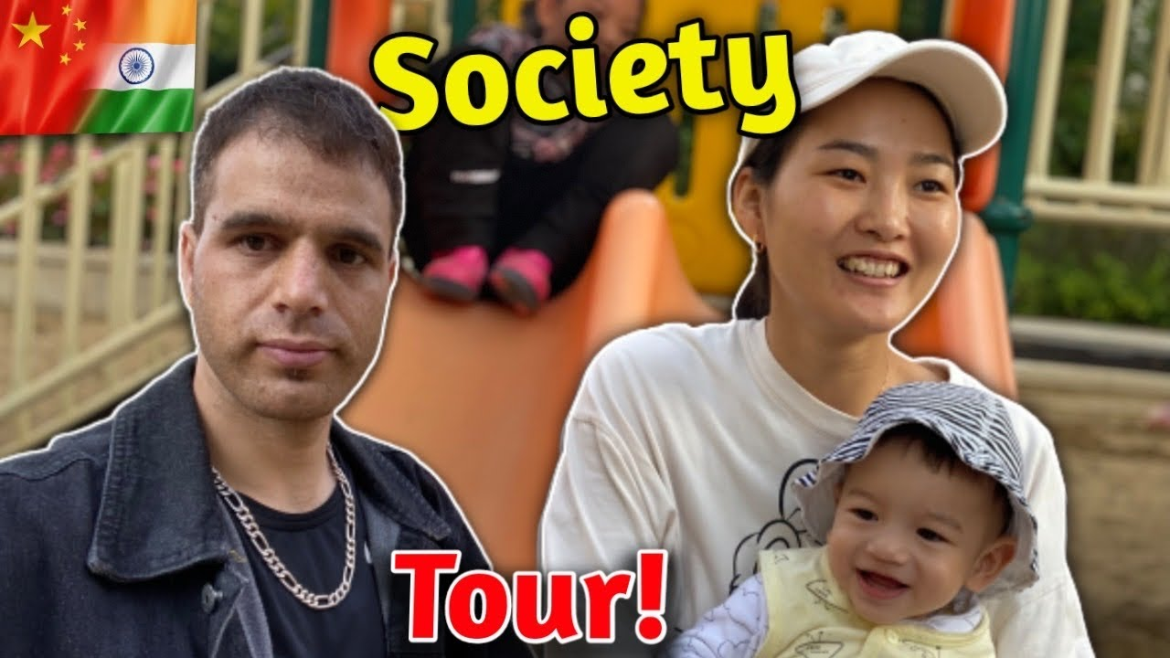 Our society tour || @Indian In China || live in China || Indian China family || love story || ❤️