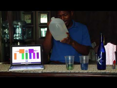 Kangen Water versus Infant Water Test