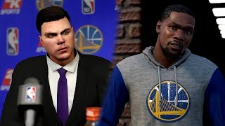 NBA 2K18 MYGM - Trading Kevin Durant - EPISODE 1 - Ending the Warriors Reign on the NBA. (NBA 2K18)