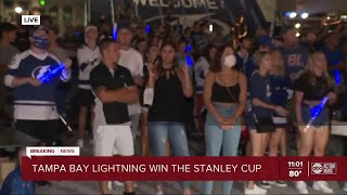Game 6: Lightning Beat Dallas Stars To Capture Stanley Cup