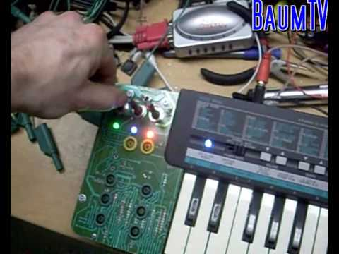 Yamaha pss 190 features show off circuit bent by baum for Yamaha mox8 specs