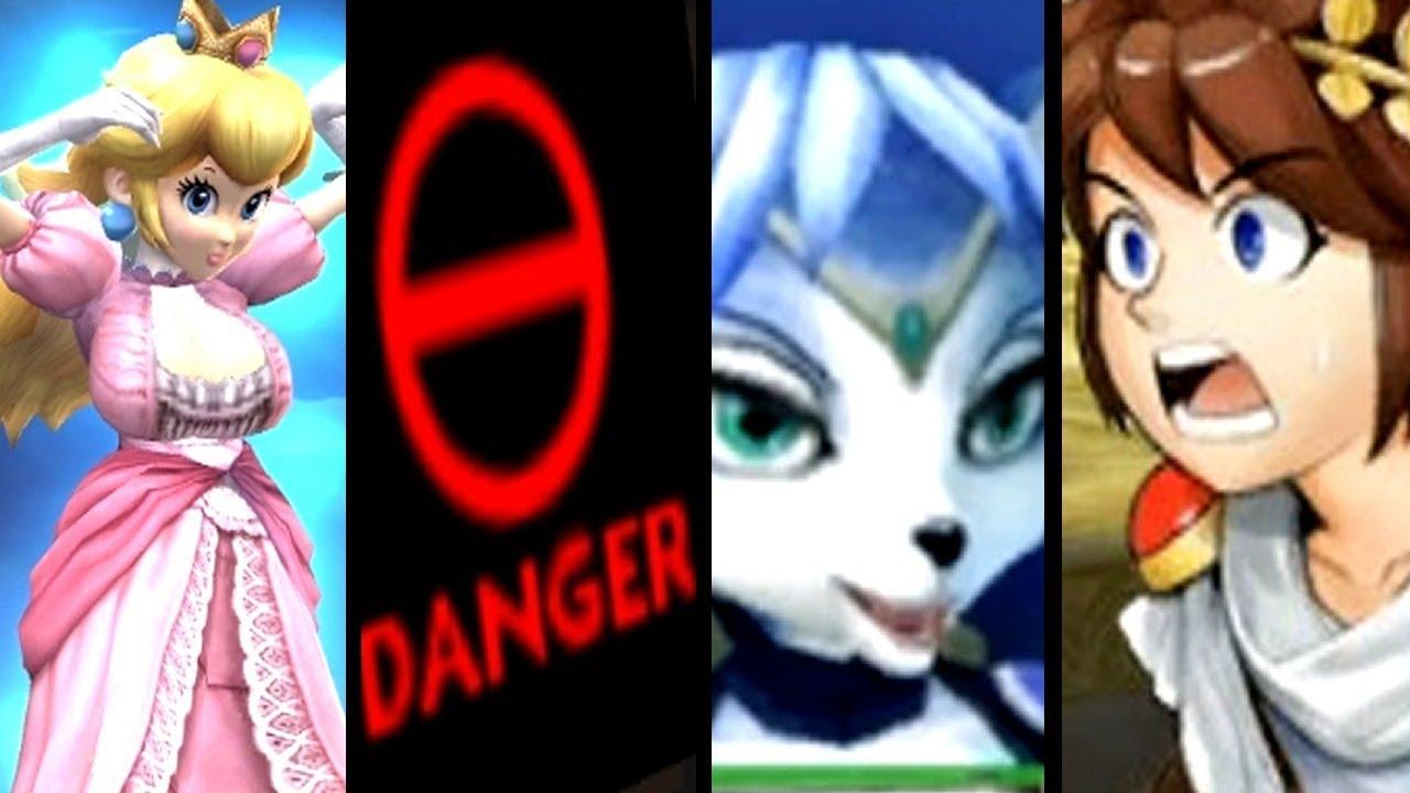 Super Smash Bros Evolution of SECRETS & EASTER EGGS (Melee to SSB4)
