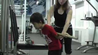Упражнения для правильной осанки у детей(http://www.zoj.kz