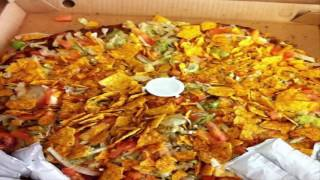 Fiesta taco pizza Riview