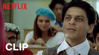 Shah Rukh Khan's Introduction to the Class | Main Hoon Na | Netflix India