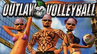 Outlaw Volleyball - Boobs and volleyballs