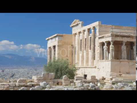 Travel View of Acropolis in Athens, Greece - Stock Footage | VideoHive 14384270