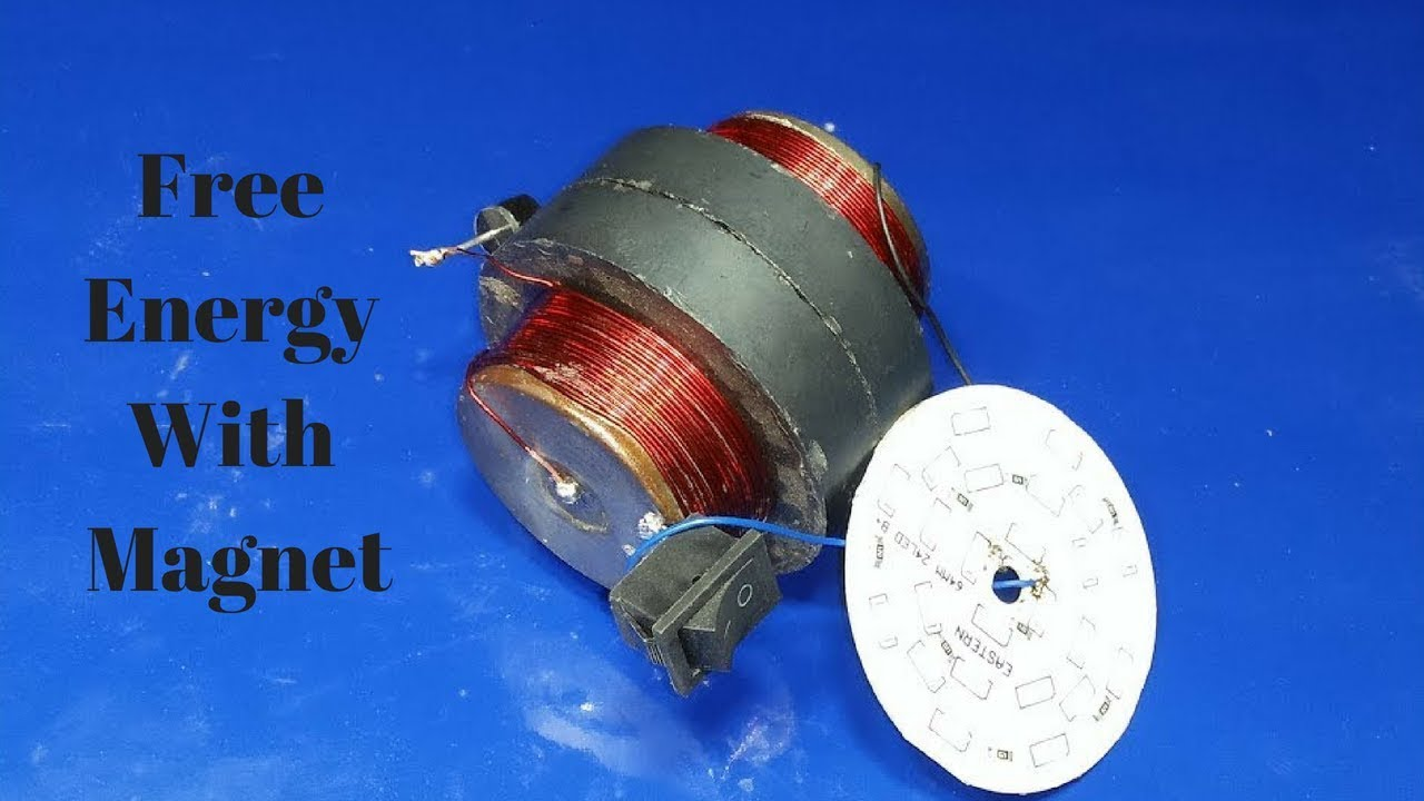 how to build free energy magnet and copper wire 100%real new ...