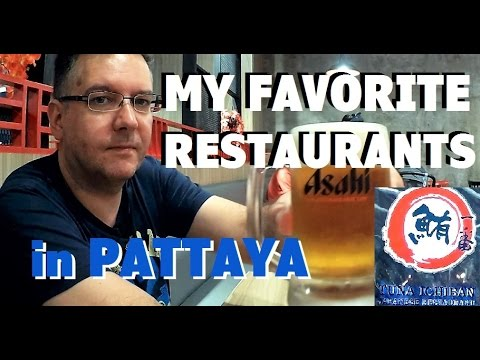 My favorite restaurants in Pattaya review - Meet up with Rya