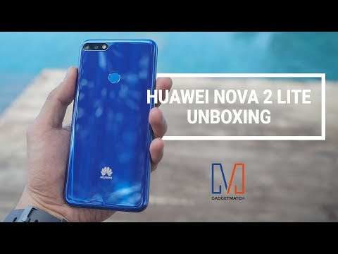 Huawei Nova 2 lite Unboxing and Hands-on