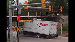 Trucks Hitting Bridges part 2