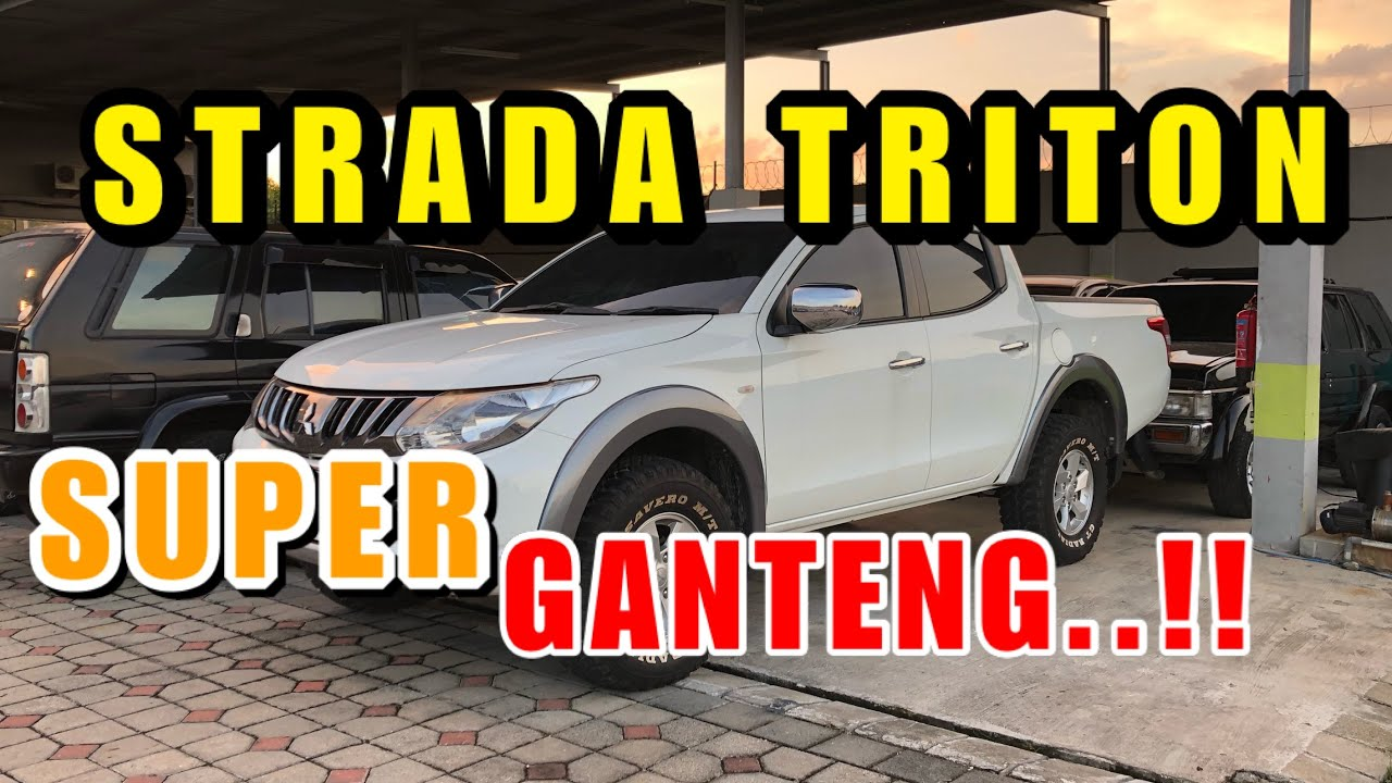 Mitsubishi Strada Triton Double Cabin Superrr Ganteng