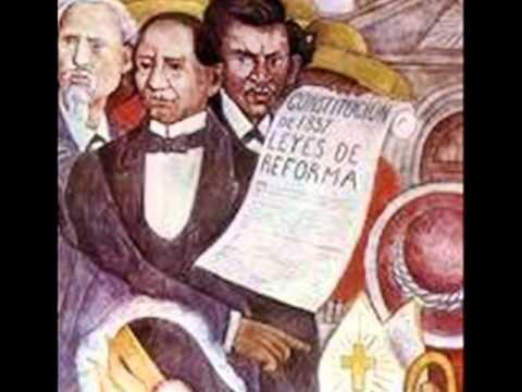 Las leyes de reforma de benito ju youtube for Caracteristicas del periodico mural