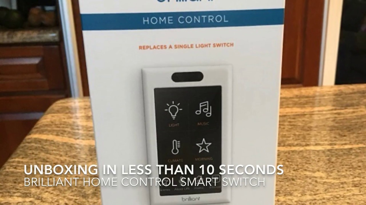 brilliant home control switch review, a new smart switch