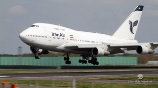【Narita-chronicle】Iran Air B747 SP Landing@Narita/成田空港 映像記録