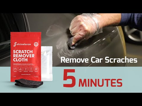How to Remove Scratches From Car – Quick DIY for Beginners | Save Hundreds of Dollars in 5 minutes!
