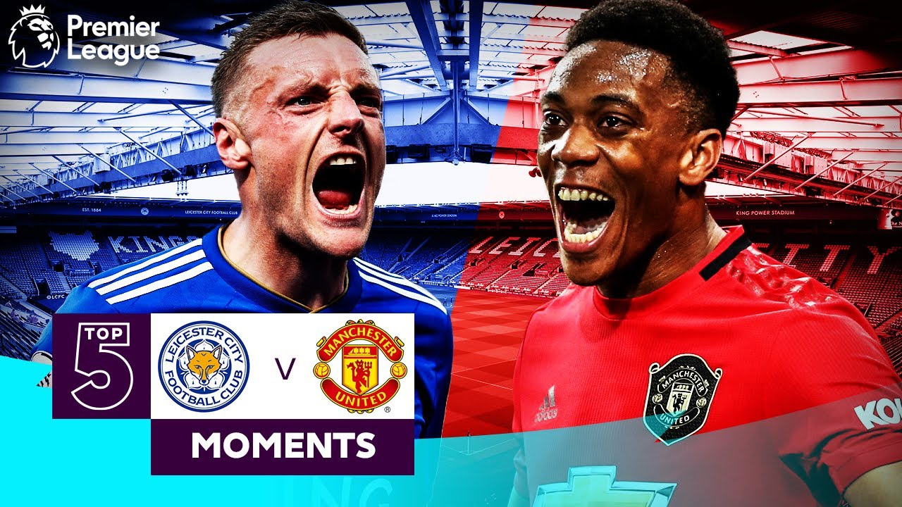 Download Leicester City vs Manchester United   Top 5 Premier League Moments   Vardy, Martial, Mata