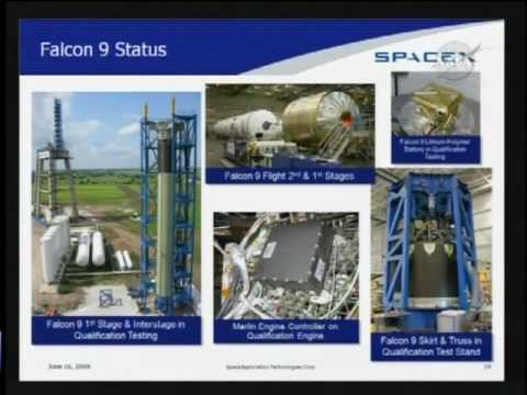 Elon Musk's SpaceX presentation to the Augustine panel